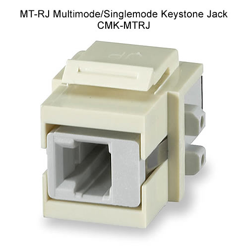 MT-RJ multimode keystone jack - icon