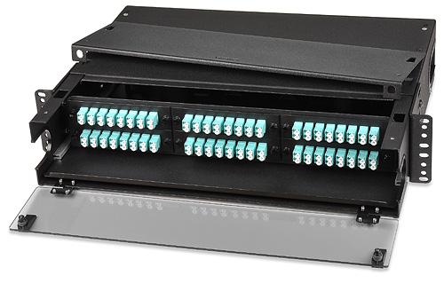 36-144 Fiber General-Purpose Rack-Mount Optical Fiber Enclosure