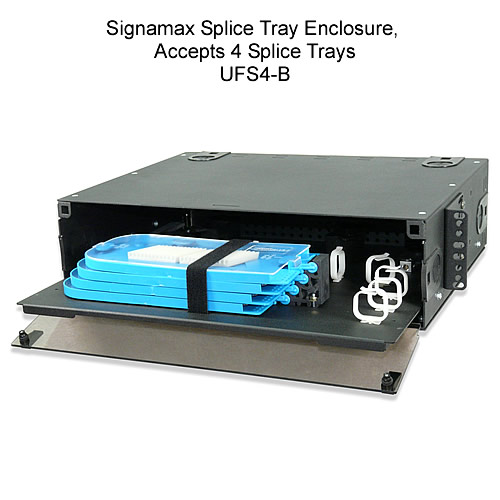 Signamax™ Rackmount Fiber Optic Splice Tray Enclosures