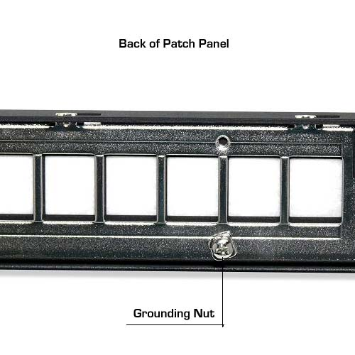 Signamax back of pacht panel, grounding nut - icon