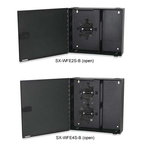 Signamax Wall Mount Fiber Optic Enclosures with Security Doors open - icon
