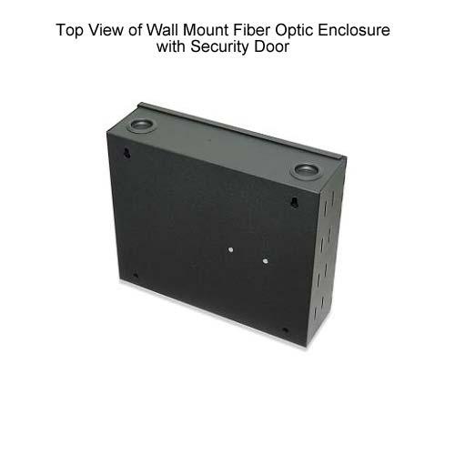 Signamax Wall Mount Fiber Optic Enclosures with Security Door, top view - icon