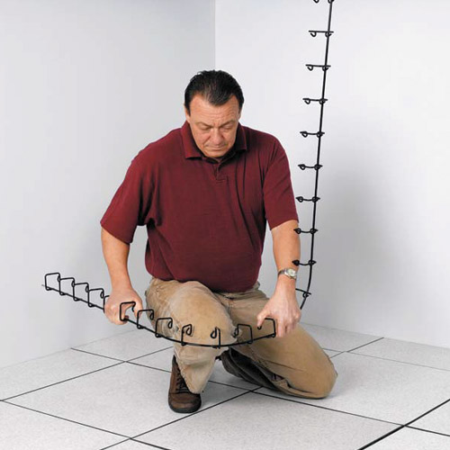 Snake Tray 401 Mini Cable Tray Bended by Hands