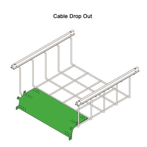 Snake Tray® Snake Canyon® Cable Trays CM-301-TO