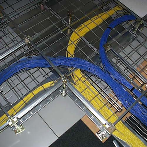 close up of SnakeTray Snake Canyon Cable Trays installed - icon