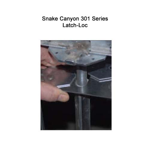 close up of SnakeTray Snake Canyon Cable Tray latch-loc - icon