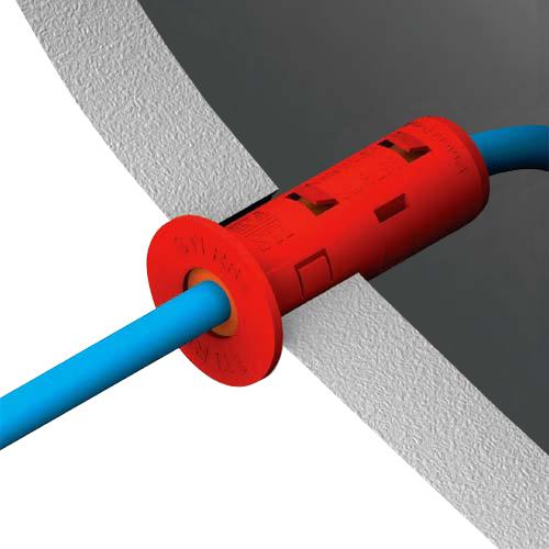 Drawing of a STI Ready® Firestop Grommet - icon