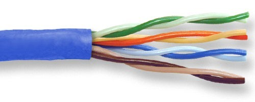close up of Superior Essex Cobra Cat5E Cable with strands separated - icon