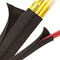 F6 Woven Wrap Braided Sleeving 3/16in and 1-1/2in
