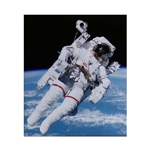 picture of astronaut - icon