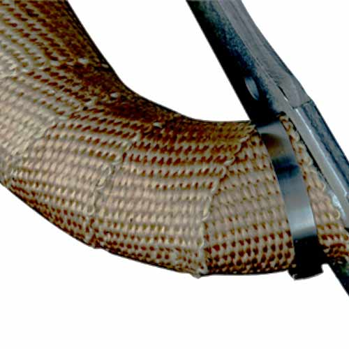 insultherm header wrap and exhaust wrap in use - icon