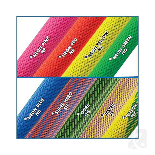 Flexo UV Braided Sleeving available colors - icon
