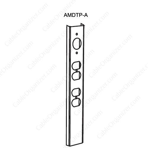 Wiremold Power Pole SRPP-AMDTP-A