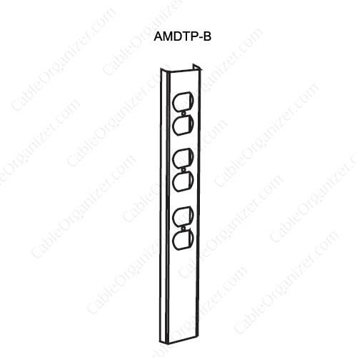 Wiremold Power Pole SRPP-AMDTP-B