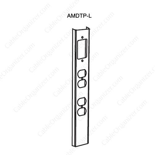 Wiremold Power Pole SRPP-AMDTP-L