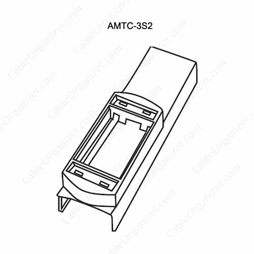 Wiremold Power Pole SRPP-AMTC-3S2