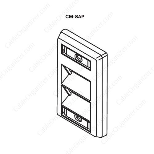 Wiremold Power Pole SRPP-CM-SAP