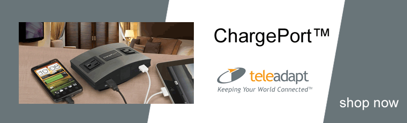 TeleAdapt ChargePort tabletop charging station