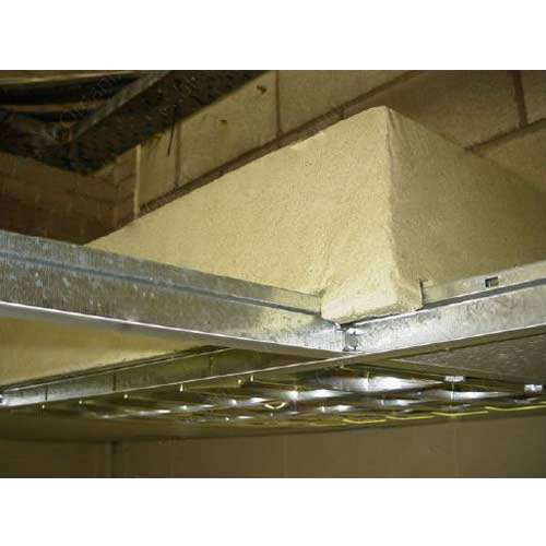 troffer cover installed in drop-ceiling - icon