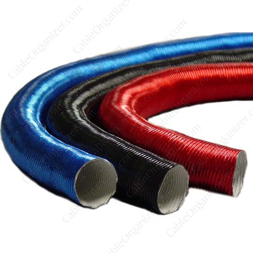 Thermo-Flex heat shield in blue, black and red - icon