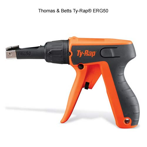 side view of thomas and betts ty-rap erg50 cable tie tool icon