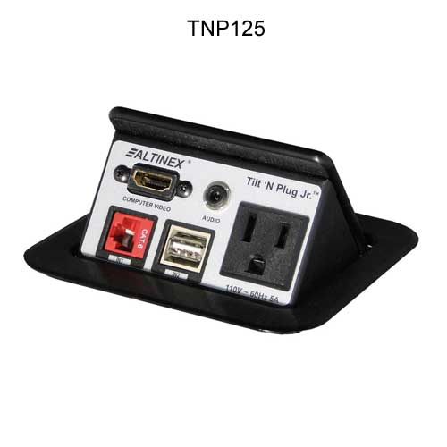 Tilt 'N Plug Jr.™ Tabletop Interconnect Box PDC-TNP125