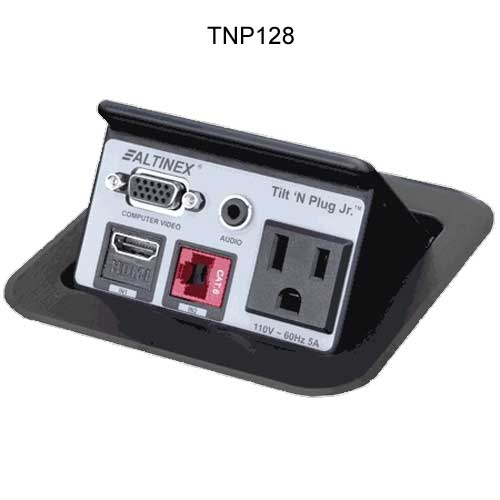 Tilt 'N Plug Jr.™ Tabletop Interconnect Box PDC-TNP128