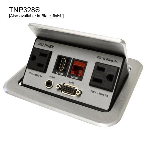 TNP328 Table Box Silver Finish