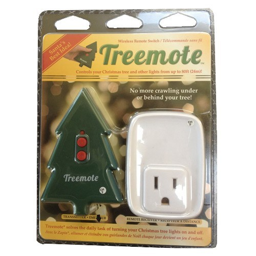 Treemote Remote Control Receptacle in a Package