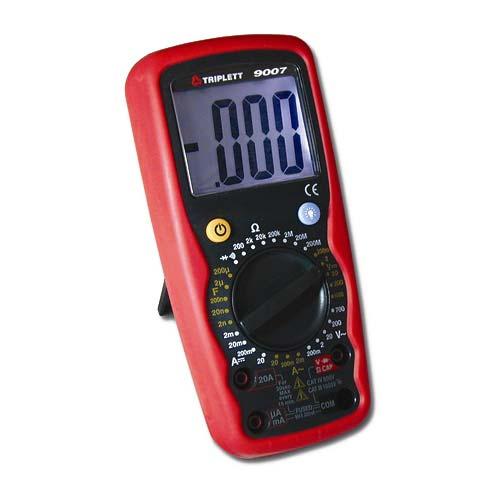 Triplett 9007-A Digital Multimeter with Capacitance Tester