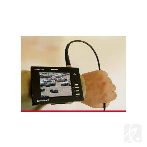 Triplett CamView W35 on wrist, application - icon