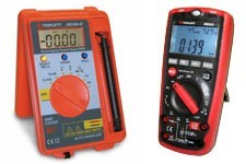 Triplett digital meters