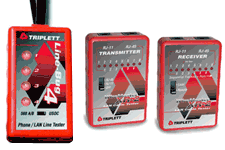 Triplett network cable testers