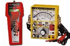Triplett tone generators, railroad testers, TDR