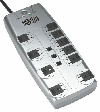 Tripp-Lite Surge Suppressors for Home or Office  TL-TLP1008TEL