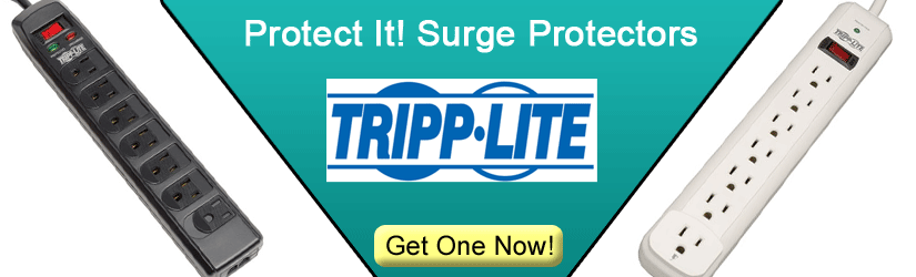Tripp-Lite PROTECT IT surge protectors