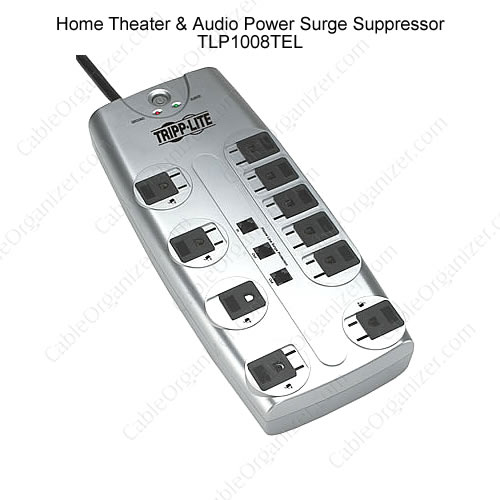 Home Theater and Audio Power Surge Suppressor