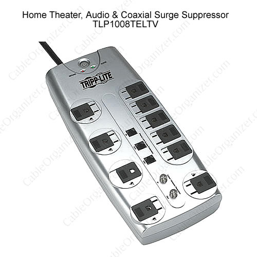 Home Theater, Audio and Coaxial Surge Suppressor