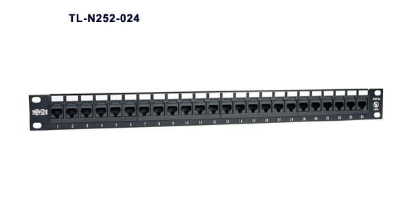 Tripp Lite SmartRack Premium Enclosure Accessory 24 port patch panel part n252-024 -icon