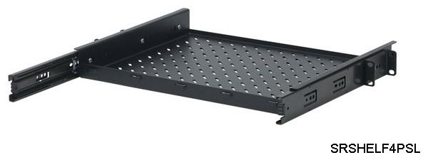 sliding rack shelf