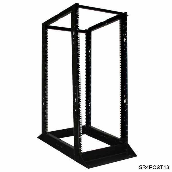13RU 4-post rack