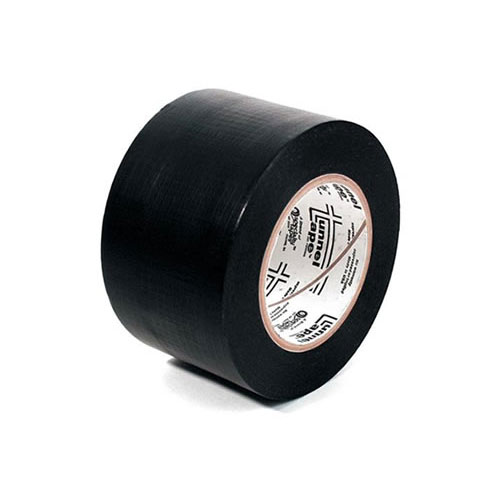 roll of tunnel tape in black - icon