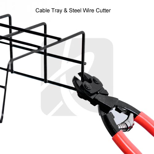 Under Desk Cable Tray Cut