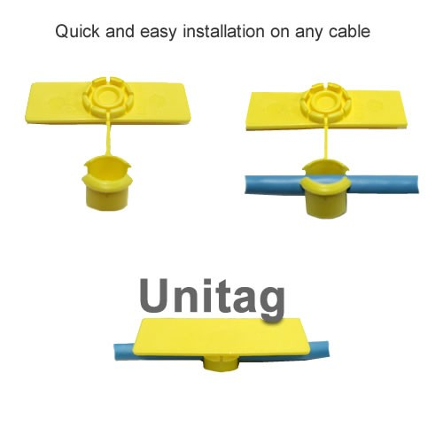 quick and easy installation on any cable