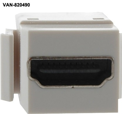 front view of Vanco HDMI Keystone Insert with Pigtail - icon