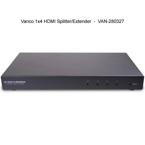 Vanco HDMI® Splitter and Extender