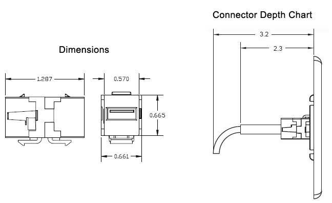 VAN-820198X drawing dimensions