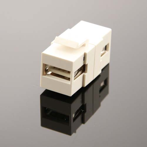front view of Vanco USB Keystone Adapter Insert - icon