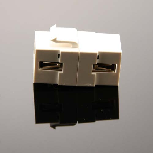 side view of Vanco USB Keystone Adapter Insert - icon