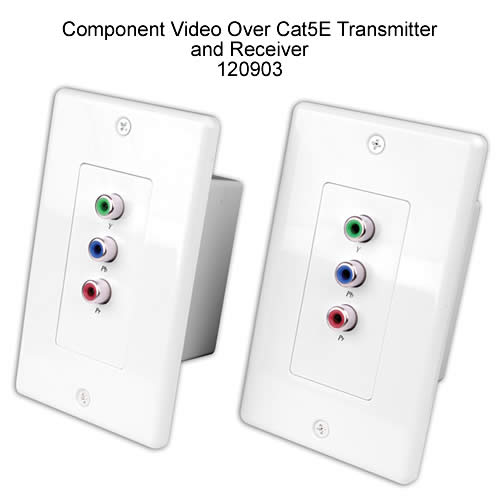 front view of Vanco Component Video Over Cat 5E Transmitter and Receiver - icon